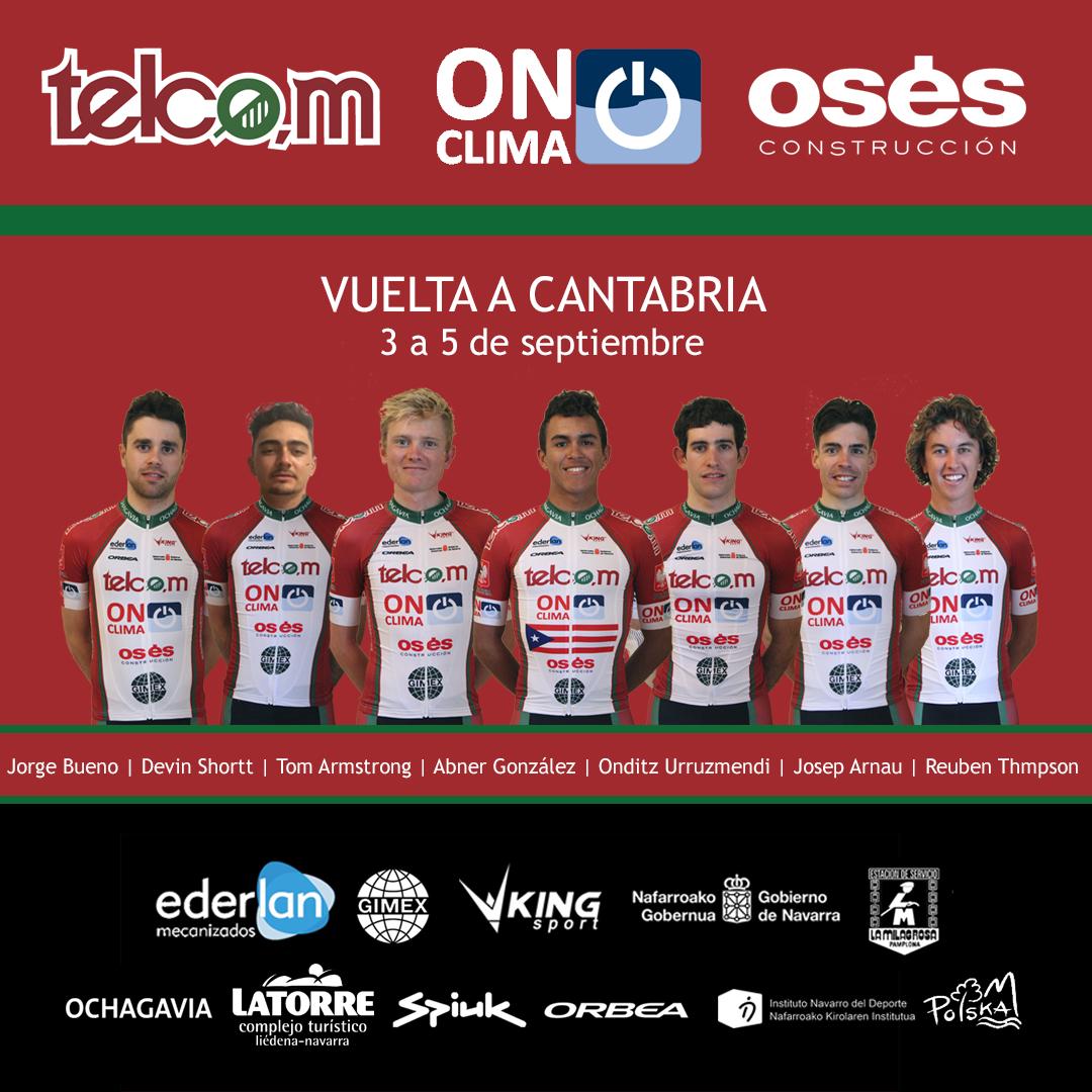 Vuelta a Cantabria alineación Telcom